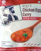 Spices & Seasonings,Indian Home Gourmet,Koli's Chicken Egg Curry Spice Paste (100g)