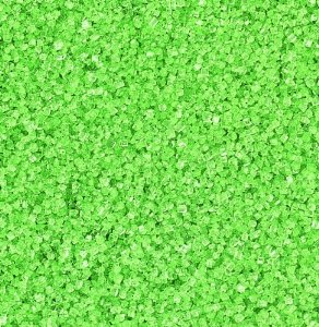 Sprinkles and Edible Shapes,Sprinkles N More,Green Sugar Crystals (100g)
