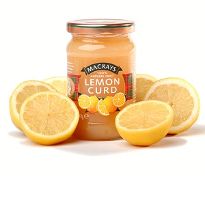 Jams And Preserves,Mackays (Scotland),Mackays Lemon Curd (340g)