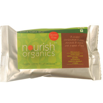 Snacks & Health Bars,Nourish Organics,Lime Date Bar (30g)