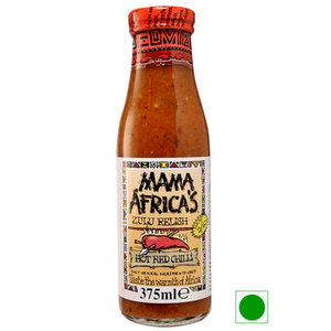 Savory & Sweet Sauces,Mama Africa,Hot Red Chilli Relish (375ml)