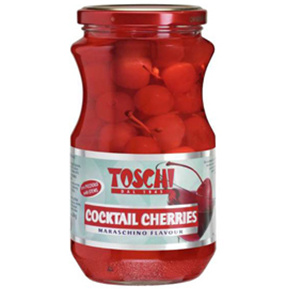 Maraschino Red Cherries With Stems Small Image