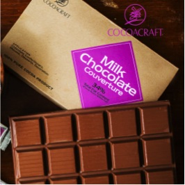 Miscellaneous Ingredients,CocoaCraft,Milk Chocolate Couverture (1kg)