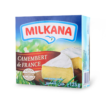 Milkana Camembert Cheese (125g) Small Image