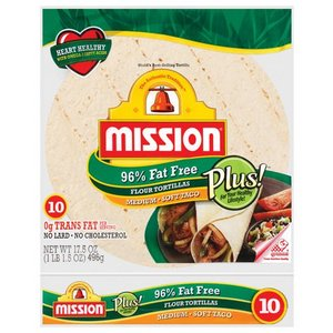Mexican,MIssion,Mission Fat Free Tortillas (384g)