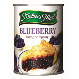 Canned Fruit & Pie Fillings,Mothers Maid,Blueberry Pie Filling (595g)