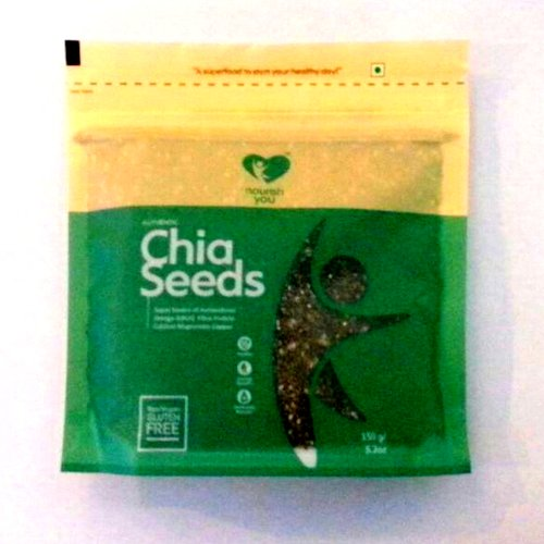 Seeds,Nourish You,Chia Seeds (95% Black) (150g)