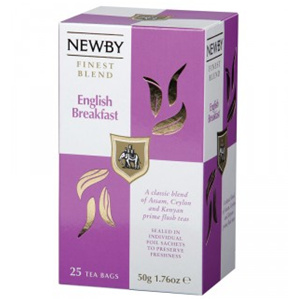 Black Tea,Newby (UK),Newby English breakfast Black Tea (50g)