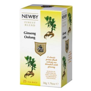 Oolong Tea,Newby (UK),Ginseng Oolong (50g)