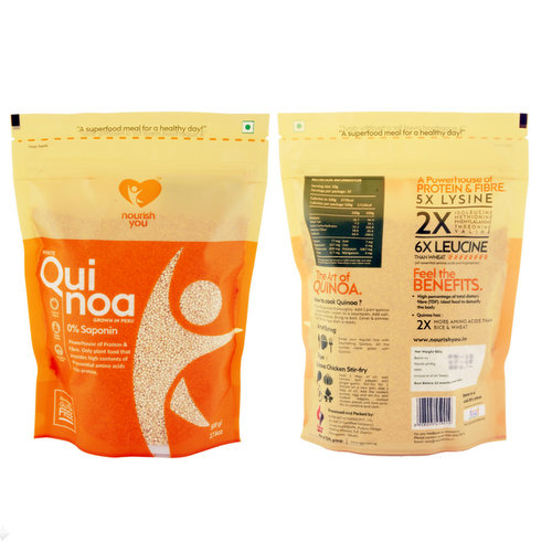 Breakfast,Nourish You,White Quinoa (Grown in Peru) (500g)