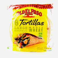 Mexican,Old El Paso,Old El Paso Whole Wheat Tortilla (350g)