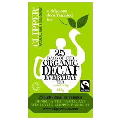 Organic Decaffeinated Tea (62.5g) small image