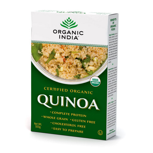 Health Flours and Grains,Organic India,Organic Quinoa (500g)