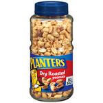 Dried Fruit & Nuts,Planters,Dry Roasted Peanuts (453 gm)