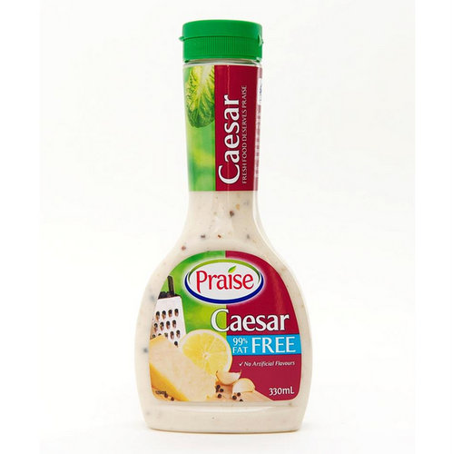 Salad Dressings,Praise,Fat Free Caesar Dressing (330ml)