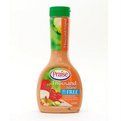 Salad Dressings,Praise,Fat Free Thousand Island Dressing (330ml)