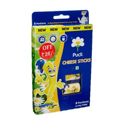 Puck Cheese Sticks (6 Sticks-108g) Small Image