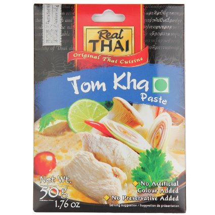 Thai,Real Thai,Real Thai Tom Kha Paste (50g)