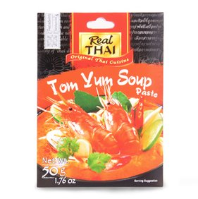 Thai,Real Thai,Real Thai Tom Yum Soup Paste (50g)