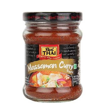 Real Thaai Massamna Curry Paste (227g) Small Image