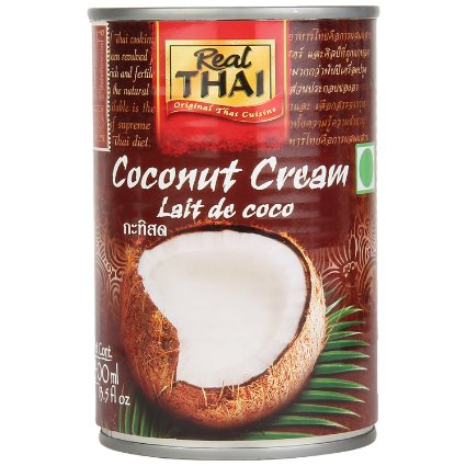 Thai,Real Thai,Real Thai Coconut Cream (400ml)