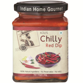 Savory & Sweet Sauces,Indian Home Gourmet,Red Chilly Dip (250g)