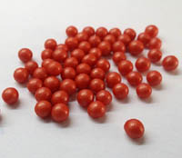 Sprinkles and Edible Shapes,Sprinkles N More,Red Sugar Pearls - 2.5mm (100g)