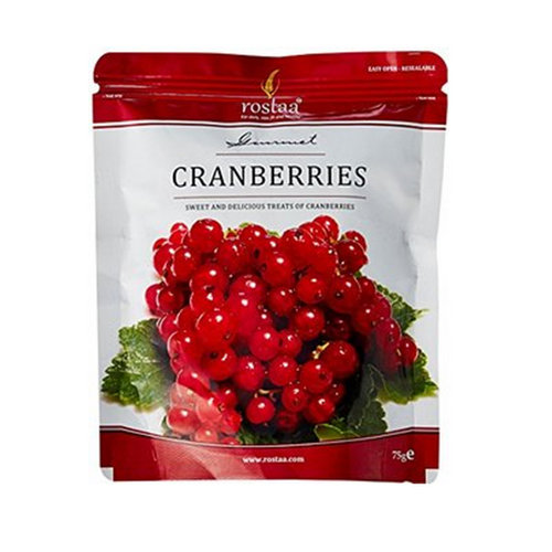 Dried Fruit & Nuts,Rostaa,Rostaa Cranberries (200g)