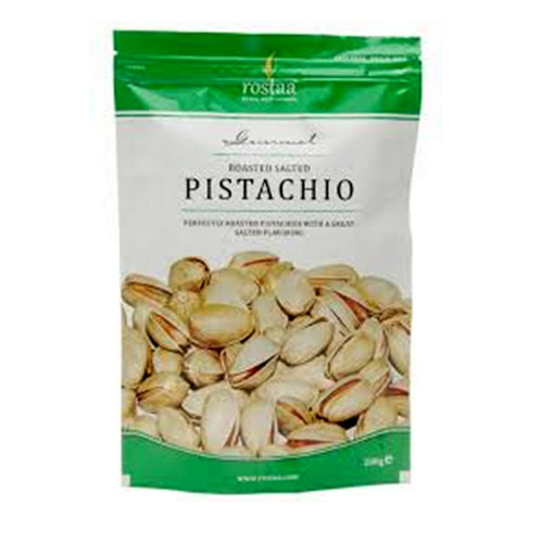 Dried Fruit & Nuts,Rostaa,Roasted Salted Pistachio (200g)