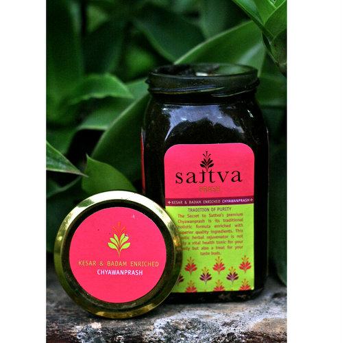 On-the-Go Snacks,Sattva,Sattva Prash - A Premium Chyawanprash (450 gm)