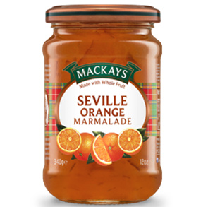 Marmalade,Mackays (Scotland),Seville Orange Marmalade (340gm)