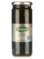 Olives,Fragata,Fragata Spanish Whole Black Olive (450gm)