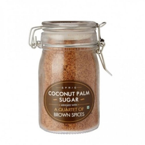 Baking Sugars,Sprig,Coconut Sugar Mingled with a Quartet of Brown Spices (175g)