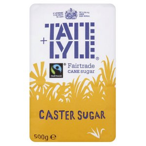 Baking Sugars,Tate & Lyle,Tate & Lyle Caster Sugar for Baking (500g)