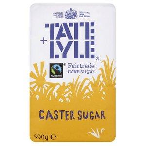 Baking Sugars,Tate & Lyle,Tate & Lyle Caster Sugar for Baking (500g)