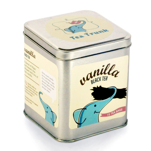 Black Tea,Tea Trunk,Tea Trunk Vanilla Black Tea (15 tea bags)