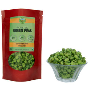 Strawberry Wasabi Flavored Peas (150gm)