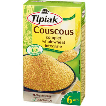 Breakfast,Tipiak,Organic Wholewheat Coucous (400g)