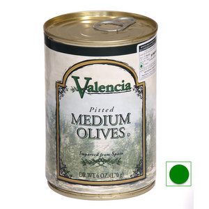 Olives,Lindsay (Spain/ USA),Valencia Pitted Spanish Black Olives (170g)
