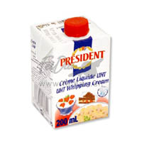 Cheese,President,President Whipping Cream (200ml)