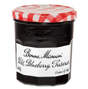 Jams And Preserves,Bonne Maman,Wild Blueberry Preserve (370g)