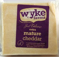 Cheese,WYKE Farms,WYKE Farms Extra Mature Cheddar Cheese (200g)