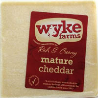 Cheese,WYKE Farms,WYKE Farms Mature Cheddar Cheese (200g)