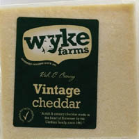 Cheese,WYKE Farms,WYKE Farms Vintage Cheddar Cheese (200g)