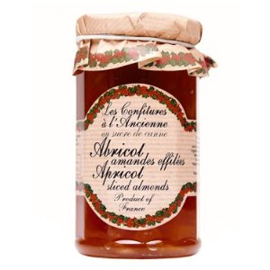 Jams And Preserves,Confitures (France),Apricot with Sliced Almonds Jam (270G)