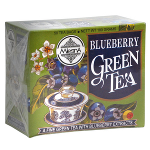 Green Tea,Mlesna,Blueberry Green Tea (100g)