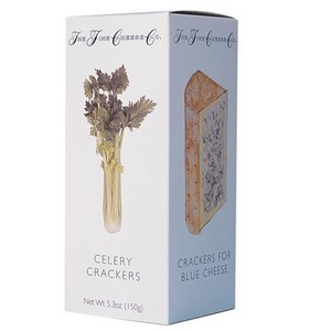 Crackers,The Fine Cheese Co. (UK),Fine Cheese Co. Celery Crackers (150g)