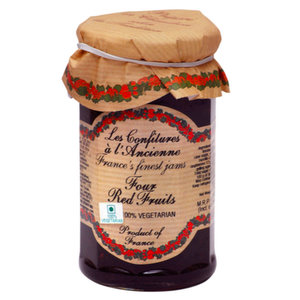 Jams And Preserves,Confitures (France),Four Red Fruits Preserve (270G)
