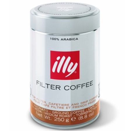 Ground Coffee,illy Coffee,Illy Filter Coffee (250g)