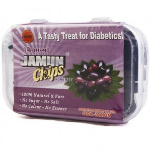 Snacks & Health Bars,Meghsons,Jamun Chips (80g)